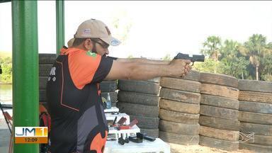 Competição de tiro esportivo é disputada em Balsas - Prova já foi um bom aquecimento para um grande evento organizado pela federação em 2020.