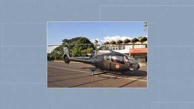 Helicóptero que servia para drogas agora será usado para resgate do Corpo de Bombeiros - Aeronave foi repassada pela Justiça de São Paulo.