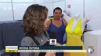 Nova Friburgo recebe feira de lingerie - Evento tem dicas do que está na moda.