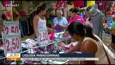 Em Paragominas, comércio do município realiza promoção - Uma boa oportunidade de comprar com desconto.