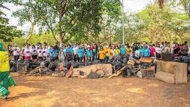 Dia mundial da limpeza movimenta voluntários em varias ações de conscientização - Bloco 01 - Dia mundial da limpeza movimenta voluntários em varias ações de conscientização - Bloco 01