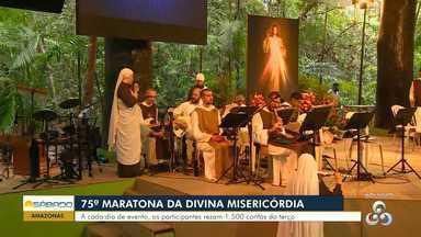 75ª Maratona da Divina Misericórdia será realizada em Manaus - Manaus recebe pela primeira vez o evento.