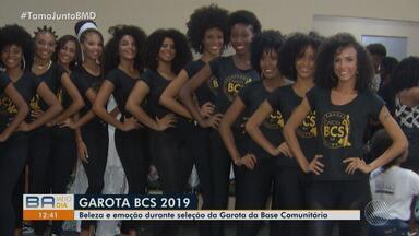 Concurso de beleca realizado por Base Comunitária da PM movimenta bairros de Salvador - O evento aconteceu em um hotel da cidade, na sexta-feira (4), e reuniu moradores do Alto das Pombas e do Calabar.