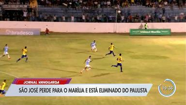 São José perdeu para o Marília e foi eliminado - Jogo foi pela 4ª divisão do campeonato paulista.