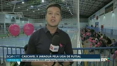 Neste sábado o Cascavel futsal enfrenta o Jaraguá do Sul pela Liga - O Cascavel disputa uma vaga entre as melhores equipes de futsal do país.