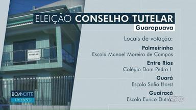 Eleição para escolha de conselheiros tutelares será neste domingo (6) - Em Guarapuava, os moradores podem votar das 9h até às 17h