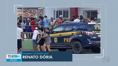 Adolescente é morta em abordagem da PRF no município de Carira - Adolescente é morta em abordagem da PRF no município de Carira.