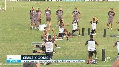 O Ceará joga amanhã (06) e espera quebrar um jejum de vitórias - Confira mais notícias em g1.globo.com/ce