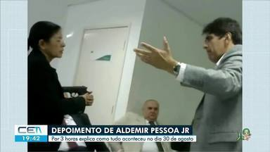 Advogado suspeito de matar Jamile de Oliveira presta depoimento à polícia - Confira mais notícias em g1.globo.com/ce