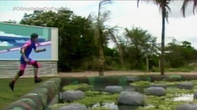 Olimpíadas do Faustão apresenta 'Pedra Maldita' - Mais uma prova do quadro clássico do 'Domingão'