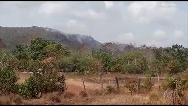 Incêndio atinge parque com pinturas rupestres em Monte Alegre, no Pará - Um incêndio atinge o Parque Estadual de Monte Alegre, no oeste do Pará, desde o início da noite de sábado. A reserva abriga um sítio arqueológico. Militares do corpo de bombeiros e trinta brigadistas voluntários trabalham no combate ao fogo.