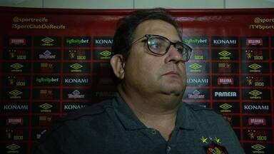 Guto Ferreira fala sobre empate do Sport contra o CRB - Guto Ferreira fala sobre empate do Sport contra o CRB