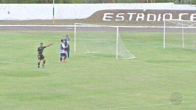 É terrão ou não é? Camapuã recebe jogos da Liga UEFA-MS - Primeira rodada do grupo do Nortão atrai torcedores no estádio Carecão