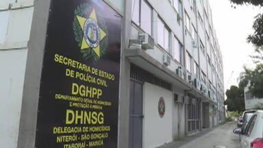 Ex-namorado de vítima de feminicídio em Niterói é preso e confessa o crime - Fábio Souza da Silva disse que decidiu matar Julia Inez Soares quando ela quis ter um relacionamento sério com ele. A vítima, grávida de quatro meses, foi enterrada em Niterói.