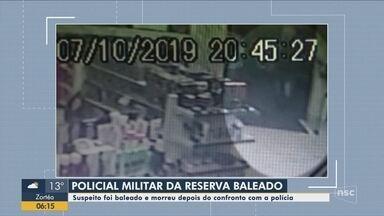 Suspeito de atirar em policial militar foi baleado e morto após confronto em Itajaí - Suspeito de atirar em policial militar foi baleado e morto após confronto em Itajaí