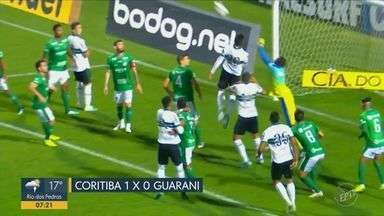 Bugre perde do Coritiba e interrompe boa sequencia na série B - Placar terminou em 1 a 0 para o Coritiba.