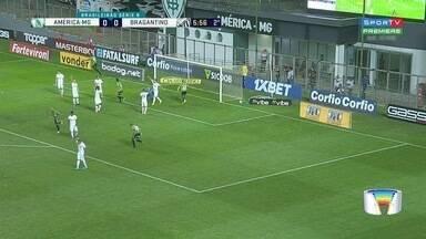 Bragantino é derrotado por 2 a 0 pelo América-MG - Massa Bruta segue com folga na liderança da Série B.