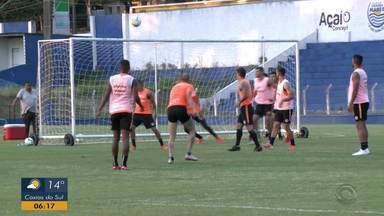 Inter realiza último treino antes da partida contra o CSA - D'Alessandro pode começar no time titular.