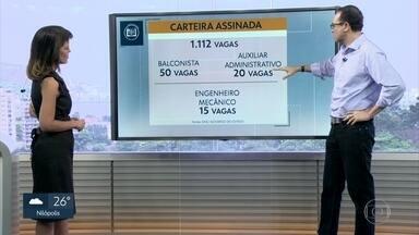 Confira as oportunidades de emprego no Rio de Janeiro - Edimilson Ávila destaca as oportunidades de emprego e estágio no Rio.