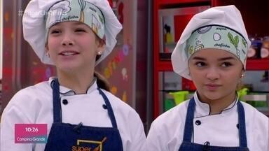 Clara e Raylla estão na final do 'Super Chefinhos' - Todos os demais participantes vão disputar uma repescagem para conseguir uma vaga na final