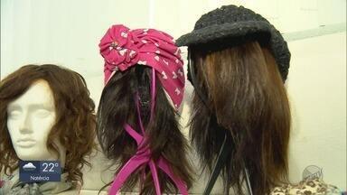 Menina de seis anos doa cabelo para pacientes com câncer em Pouso Alegre (MG) - Menina de seis anos doa cabelo para pacientes com câncer em Pouso Alegre (MG)