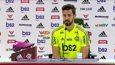 """Pablo Mari fala sobre a chegada ao Flamengo: """"Mudou minha vida em três meses"""" - Pablo Mari fala sobre a chegada ao Flamengo: """"Mudou minha vida em três meses"""""""