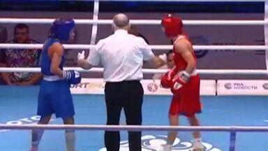 Mogiana Graziele de Jesus é eliminada na 2º rodada do Mundial de boxe da Rússia - A pugilista de Mogi das Cruzes enfrentou a russa Ylia Aetbaeva, fez uma luta equilibrada, mas acabou derrotada por decisão dos juízes.
