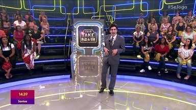 Marcelo Adnet imita Silvio Santos no segundo episódio do 'The Fake Brasil' - Confira o show de calouros na TV Globo e veja quem foi o imitador que venceu o desafio