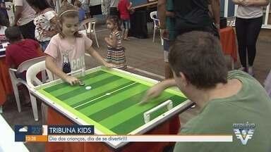 26ª edição do Tribuna Kids acontece neste sábado (12) - As atividades ocorrerão na Associação Atlética dos Portuários de Santos, das 10h às 16h.