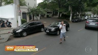 "Cartolouco invade a ""rua mais palmeirense"" - Cartolouco invade a ""rua mais palmeirense"""