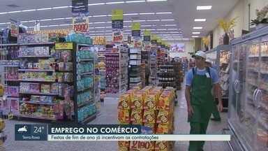 Festas de fim de ano já incentivam contratações em lojas e supermercados em Ribeirão Preto - Comerciantes estão otimistas com o movimento.
