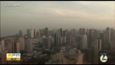 Confira a previsão do tempo em Belém e no interior do Pará nesta quinta-feira, 10 - Previsão do tempo.