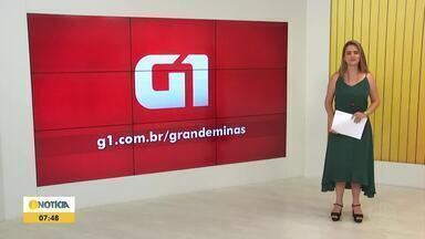 Confira os destaques do G1 nesta quinta-feira (10) - Suspeito de integrar quadrilha que traficava drogas no Norte de MG é preso com 5 quilos de maconha.