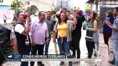 Candidatos denunciam irregularidades na eleição para Conselho Tutelar na Baixada - Alguns candidatos denunciaram que houve interferência de políticos e religiosos na eleição.
