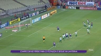Wellington Paulista marca duas vezes, Chape perde mais uma e segue na lanterna da Série A - Wellington Paulista marca duas vezes, Chape perde mais uma e segue na lanterna da Série A