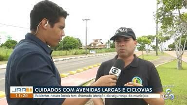 """SMTRAN fala sobre as ações contra infrações de trânsito nas ruas de Boa Vista - Polícia investiga prática de """"rachas"""" em avenidas da capital."""