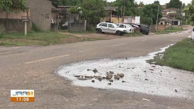 Moradores de Boa Vista reclamam de esgoto a céu aberto e bueiro aberto - Problemas ocorrem no bairro 13 de Setembro.