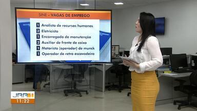 Veja as oportunidades de emprego do Sine Roraima para esta quarta (9) - O Sine fica localizado na Avenida Mário Homem de Melo, bairro Mecejana, e funciona das 7h30 às 13h30.