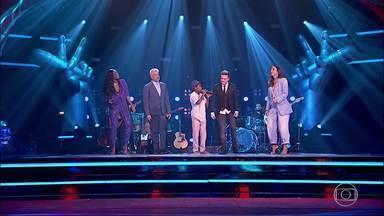 Daniel realiza sonho e canta 'Péssimo Negócio' no palco do 'The Voice Brasil' - Daniel cantou música de Dilsinho para Iza, Ivete Sangalo, Lulu Santos e Michel Teló