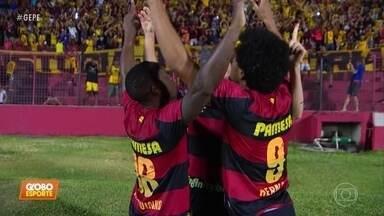 Sport vence São Bento na Ilha do Retiro e assume vice-liderança da Série B - Sport vence São Bento na Ilha do Retiro e assume vice-liderança da Série B