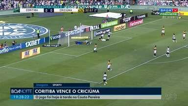 Coritiba e Operário vencem e ganham posições na série B - O Operário venceu o clássico paranaense contra o Londrina. Já o Coxa ganhou do Criciúma. E o Paraná perdeu para o líder Bragantino.