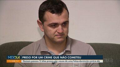 Homem fica preso por doze dias após de falsa denúncia de abuso sexual contra criança - A falsa denúncia foi feita por uma conselheira tutelar de Adrianópolis.