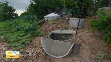 Conferência debate a convivência com a seca no Agreste - Cisternas são uma das formas de lidar com os períodos de estiagem.