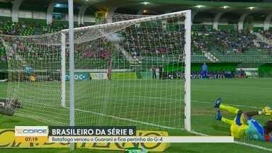 Botafogo-SP vence o Guarani e se aproxima do G-4 no Brasileiro - Tricolor Paulista subiu provisoriamente para a quinta posição com 43 pontos.