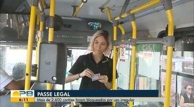Passe Legal; mais de 2.600 cartões foram bloqueados por uso irregular - Confira os detalhes na reportagem de Felícia Arbex.