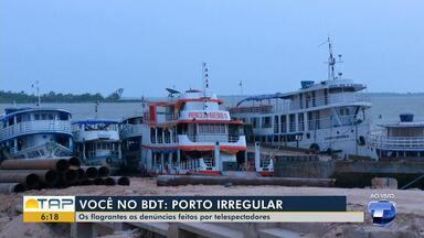 Porto Tiradentes continua sendo utilizado mesmo após encerramento das atividades no local - Embarcações que ficavam no local foram remanejadas para o porto da Prainha.
