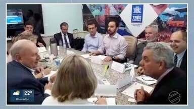 Empresários russos estão em MS para reunião sobre a UFN-3 - Reuniões são com a prefeitura de Três Lagoas e com o governo de Mato Grosso do Sul.