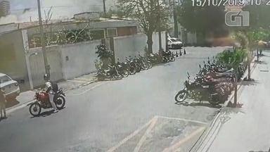 Vídeo mostra momento de desabamento de prédio em Fortaleza