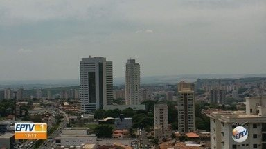 Confira a previsão do tempo para a região de Ribeirão Preto nesta terça-feira (15) - Temperatura chega aos 37° C.