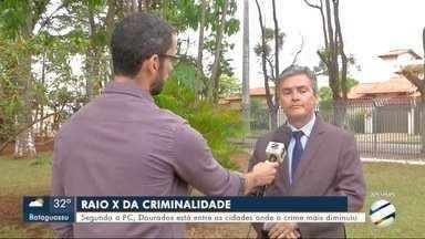 Polícia Militar obriga morador de Três Lagoas a soltar teiú capturado - Polícia Militar obriga morador de Três Lagoas a soltar teiú capturado